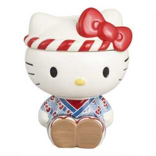Hello Kitty Omatsuri Cookie Jar