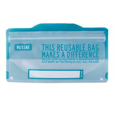 Russbe Reusable Snack Bags 8 Pack