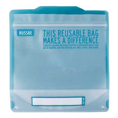Russbe Reusable Sandwich Bags 8 Pack
