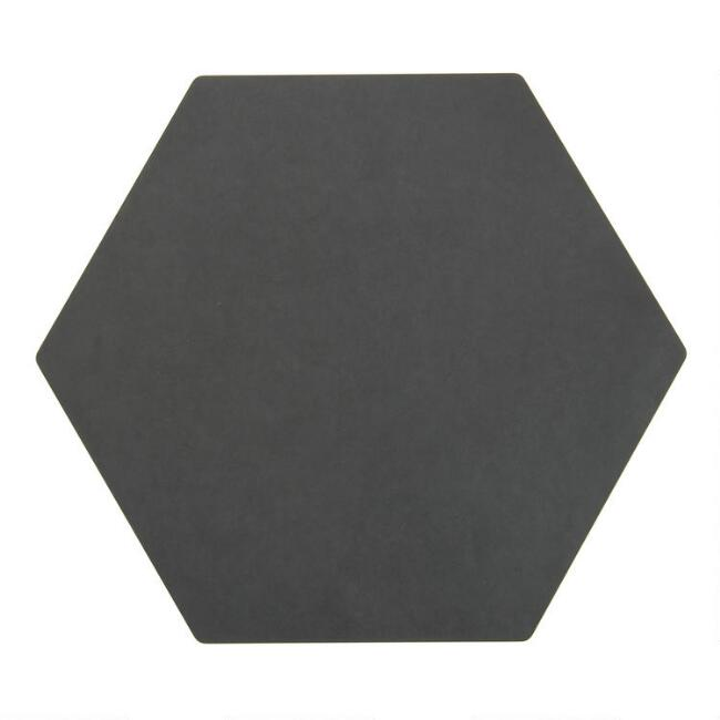 Epicurean Slate Display Hexagon Cut and Serve Board