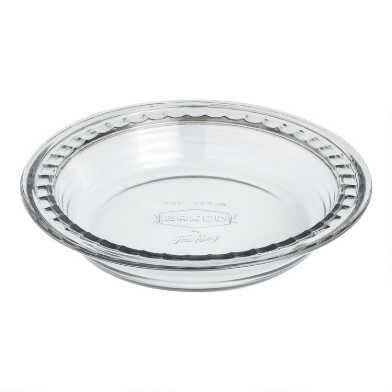 Baked by Fire-King Vintage Glass Pie Dish