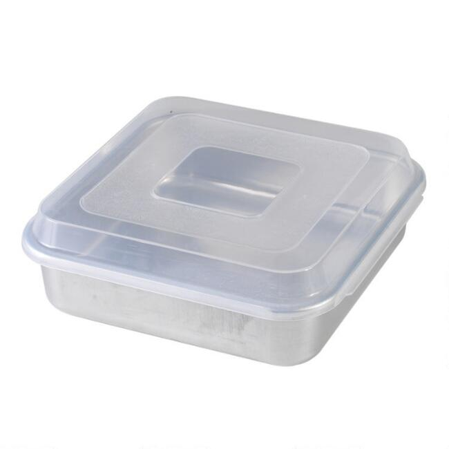 Nordic Ware Naturals Aluminum Square Baking Pan With Lid