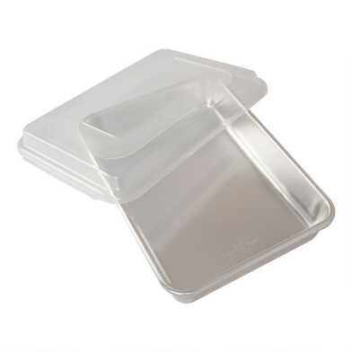 Nordic Ware Naturals Aluminum 9x13 Cake Pan With Lid