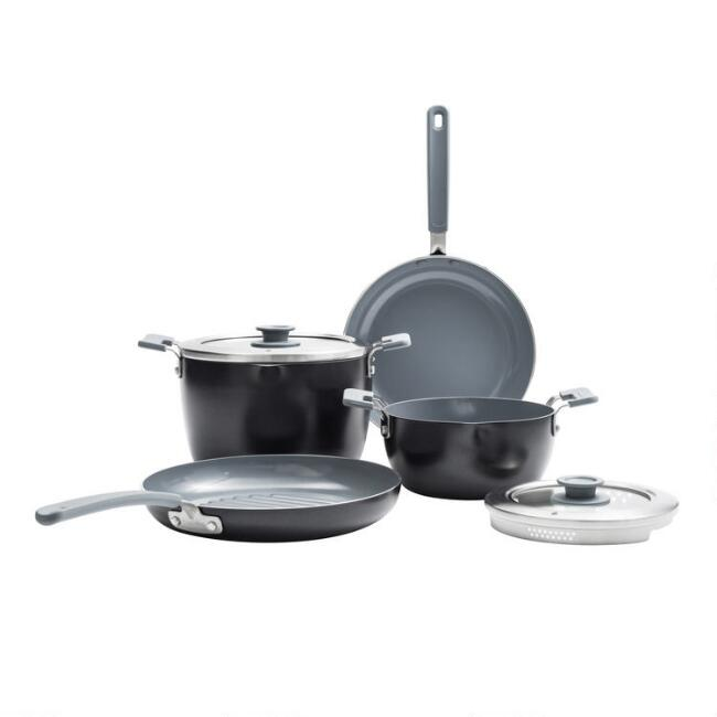 GreenPan Levels 6 Piece Nonstick Ceramic Cookware Set