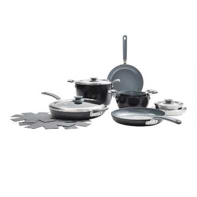 GreenPan Levels 10 Piece Nonstick Ceramic Cookware Set