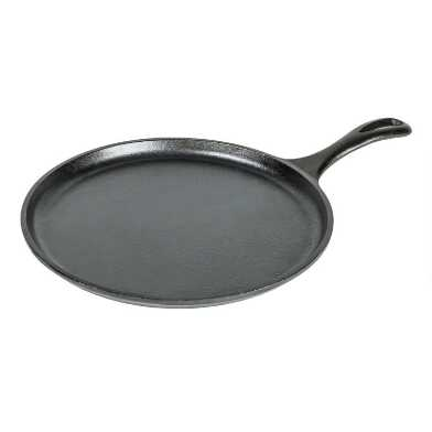 10.5 Inch Round Lodge Cast Iron Griddle