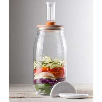 Kilner Glass Jar Fermentation Kit