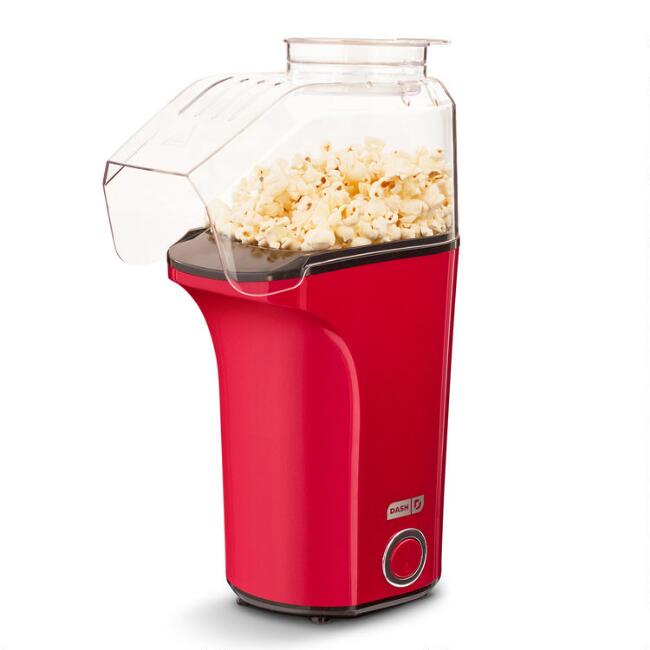Dash Red Popcorn Air Popper