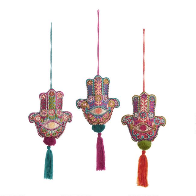 Hamsa Door Hanger Decor Set of 3