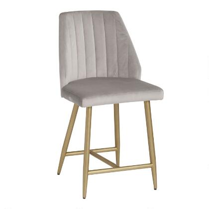 Surprising Bi Cast Leather Tyler Molded Counter Stool World Market Caraccident5 Cool Chair Designs And Ideas Caraccident5Info