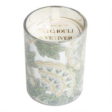 Patchouli and Vetiver Art Deco Monroe Filled Jar Candle