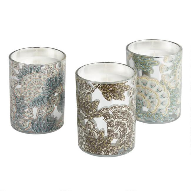 Art Deco Monroe Filled Jar Candle Collection