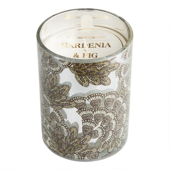 Gardenia and Fig Art Deco Monroe Filled Jar Candle