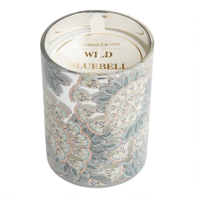 Wild Bluebell Art Deco Monroe Filled Jar Candle