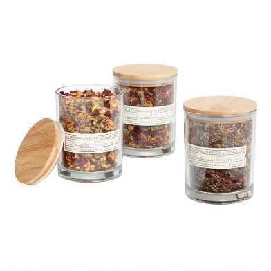 Botanical Garden Apothecary Potpourri Jar Collection
