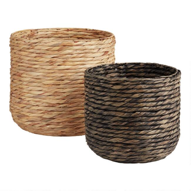 Water Hyacinth Claire Basket Collection