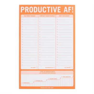 Knock Knock Productive AF! List Notepad