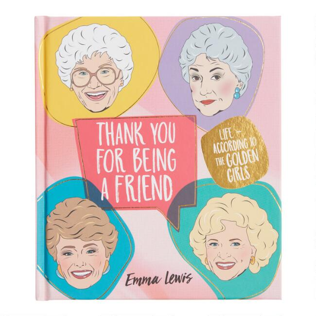 Thank You For Being A Friend Golden Girls Activities Book