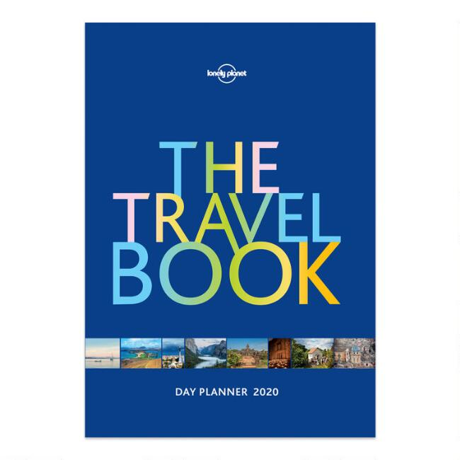 Lonely Planet Travel Book 2020 Day Planner