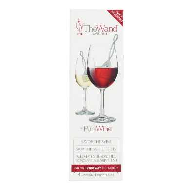 The Wine Wand Wine Filter 4 Pack
