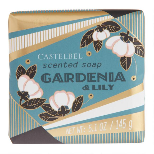 Castelbel Gold Deco Gardenia Lily Bar Soap