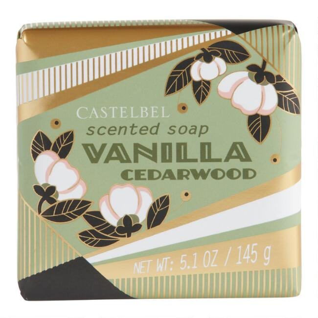 Castelbel Gold Deco Vanilla Cedarwood Bar Soap