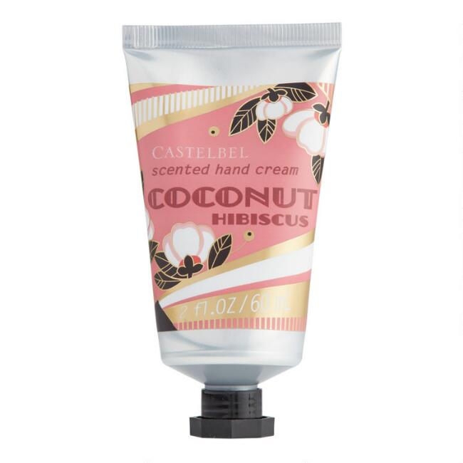 Castelbel Gold Deco Coconut Hibiscus Hand Cream Set of 2