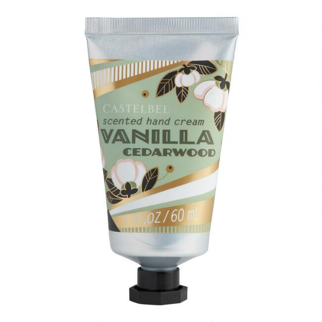 Castelbel Gold Deco Vanilla Cedarwood Hand Cream Set of 2