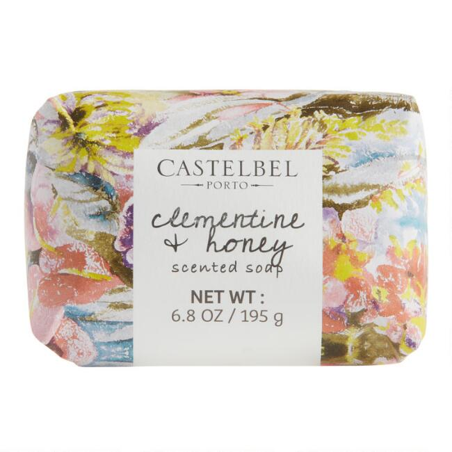 Castelbel Floral Art Clementine & Honey Bar Soap