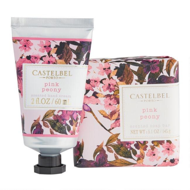 Castelbel Fleurs Pink Peony Hand Care Collection