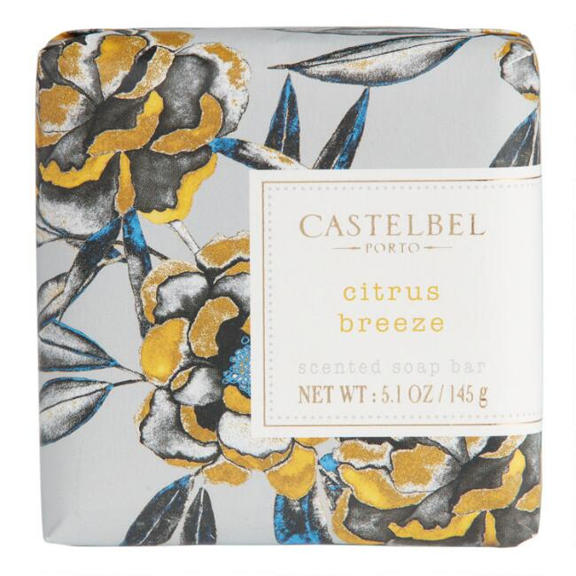 Castelbel Fleurs Citrus Breeze Bar Soap