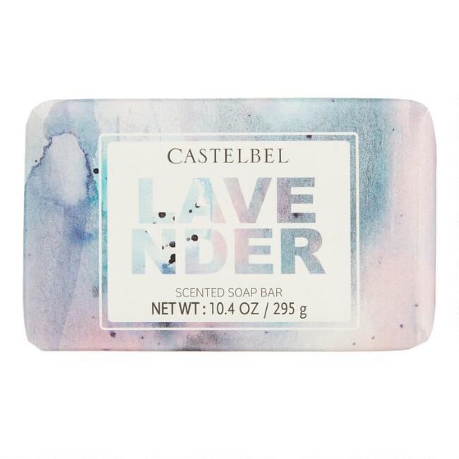 Castelbel Watercolor Spatter Lavender Bar Soap