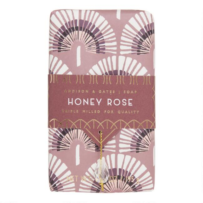 A&G Deco Gem Honey Rose Bar Soap