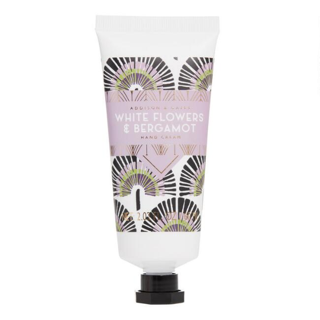 A&G Deco Gem White Flowers and Bergamot Hand Cream Set of 2