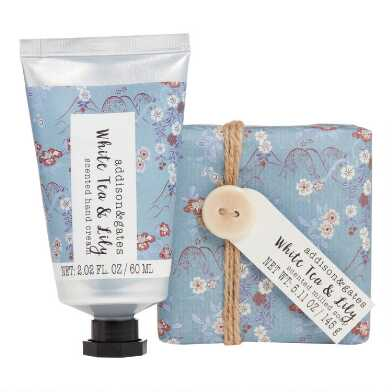 A&G Reiko White Tea and Lily Hand Care Collection