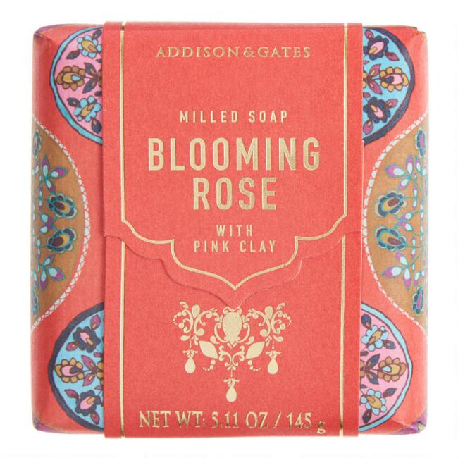 A&G Nirvana Blooming Rose Bar Soap