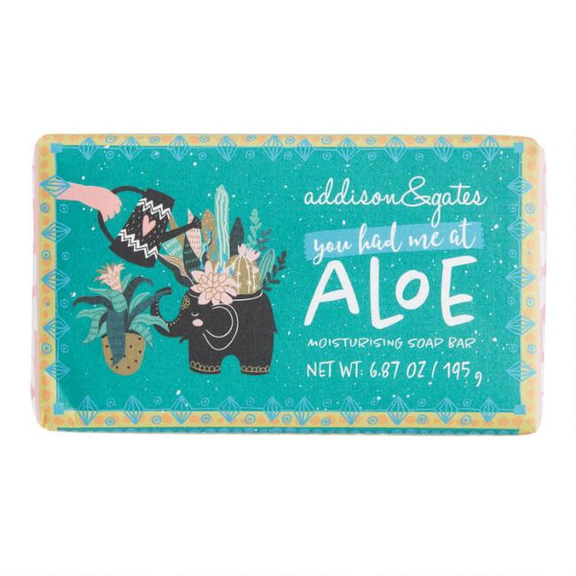 A&G Whimsical Cucumber Mint and Aloe Bar Soap