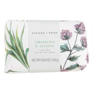 A&G Botanist Lemongrass and Verbena Bar Soap