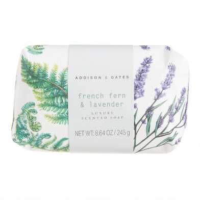 A&G Botanist French Fern and Lavender Bar Soap