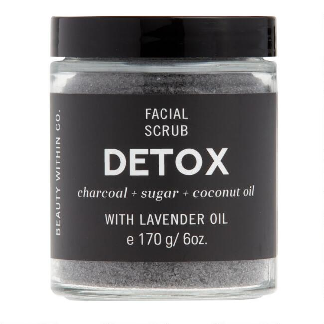 Beauty Within Co. Detox Charcoal Facial Sugar Scrub