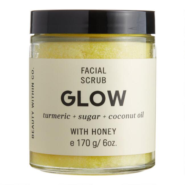 Beauty Within Co. Glow Turmeric Facial Sugar Scrub