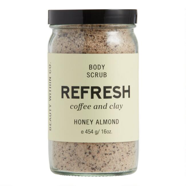 Refresh Coffee and Clay Extract Sugar Body Scrub