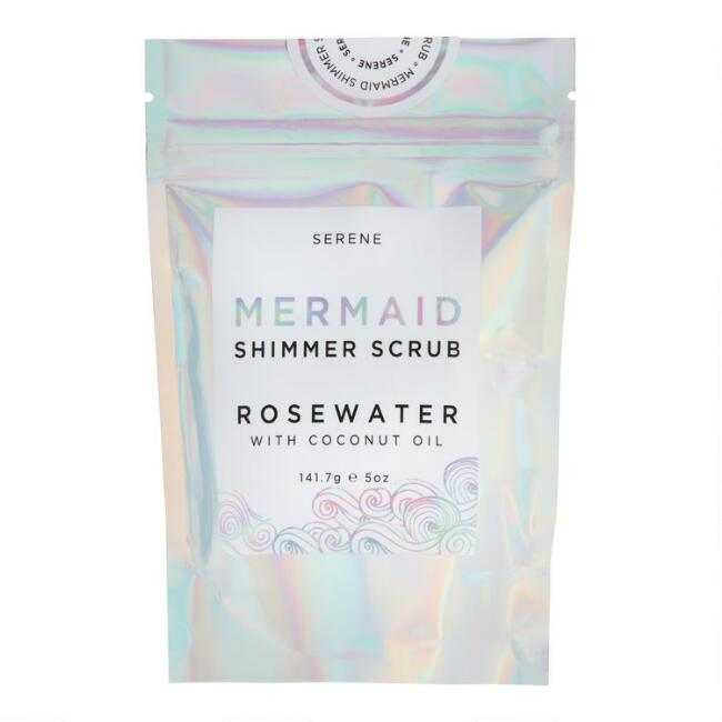 Mermaid Rosewater Body Shimmer Sugar Scrub