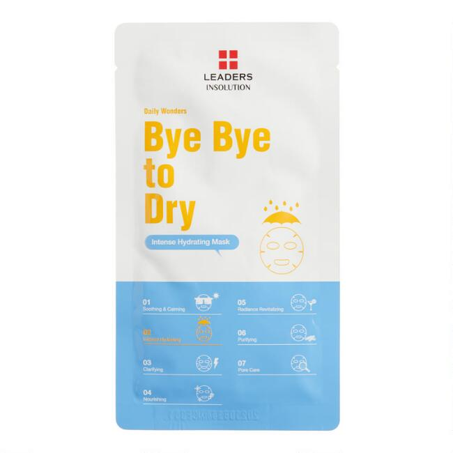 Bye Bye to Dry Korean Beauty Sheet Mask Set of 2