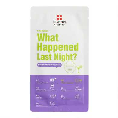 What Happened Last Night Korean Beauty Sheet Mask Set of 2