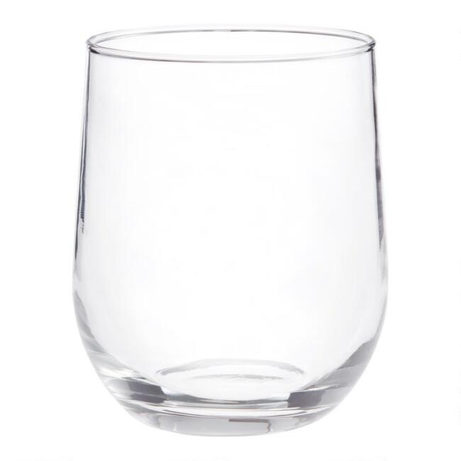 Stemless Wine Glasses 12 Pack