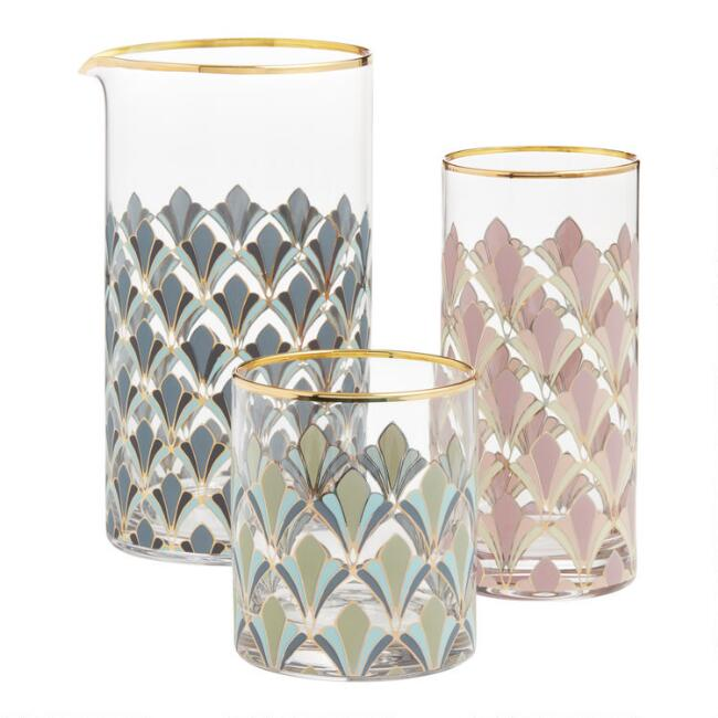Art Deco Gable Barware Collection