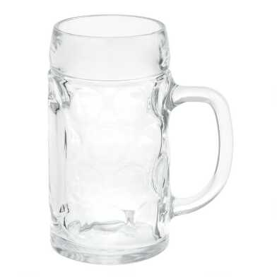 Dimpled Isar Beer Mug Set of 4