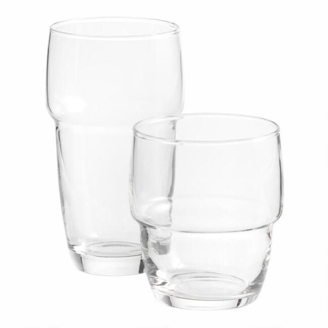 Galata Stackable Glasses Set of 6