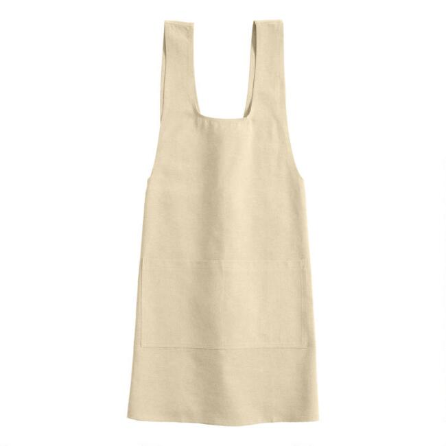 Natural Washed Cotton Smock